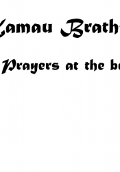 Prayers at the beach – title page