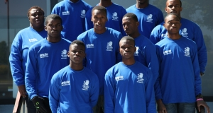 ArtsEtc sponsors shirts for Barbados' Lodge School 2012 Penn Relay team