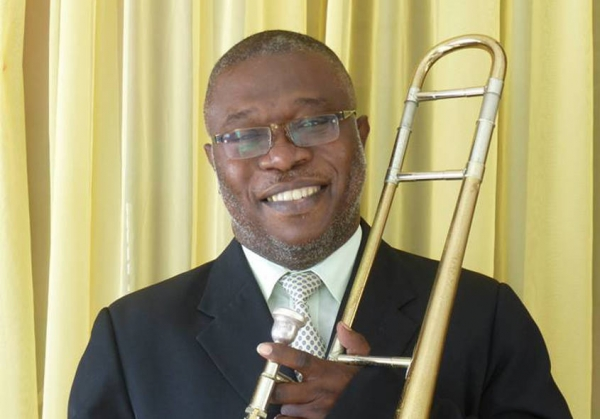 """Barbadian musician and cultural activist Adrian """"Boo"""" Husbands, who passed away January 19, 2017."""