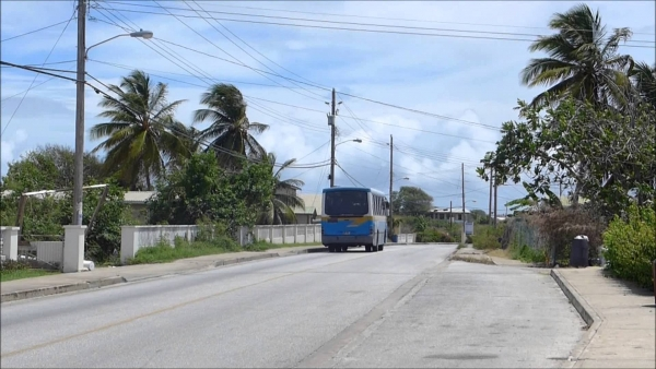 Transport Board Bus in Barbados