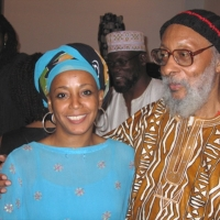 Kamau Brathwaite with Marguerite Laurent