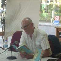 Tom Armstrong reading from Of Water and Rock in 2011